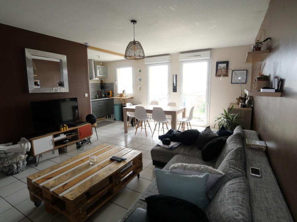 Appartement 2 chambres 62 m²  + jardin
